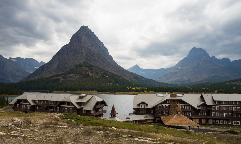 Many Glacier Hotel at Swiftcurrent Lake (September 2015)