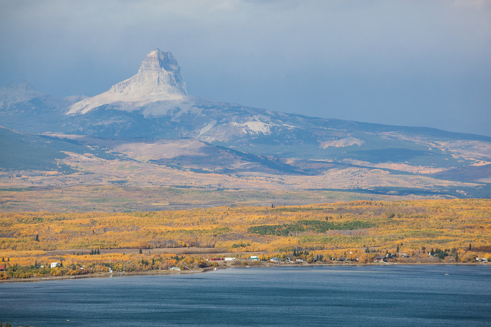Chief Mountain from Duck Lake (September 2015)