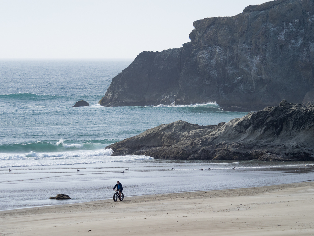 Fat Tire Bike on Bandon Beach