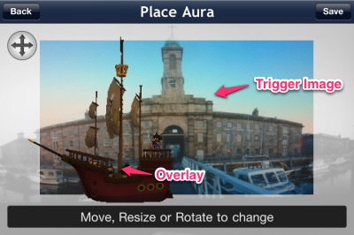 """""""Re-position"""" and """"re-scale"""" the Overlay"""