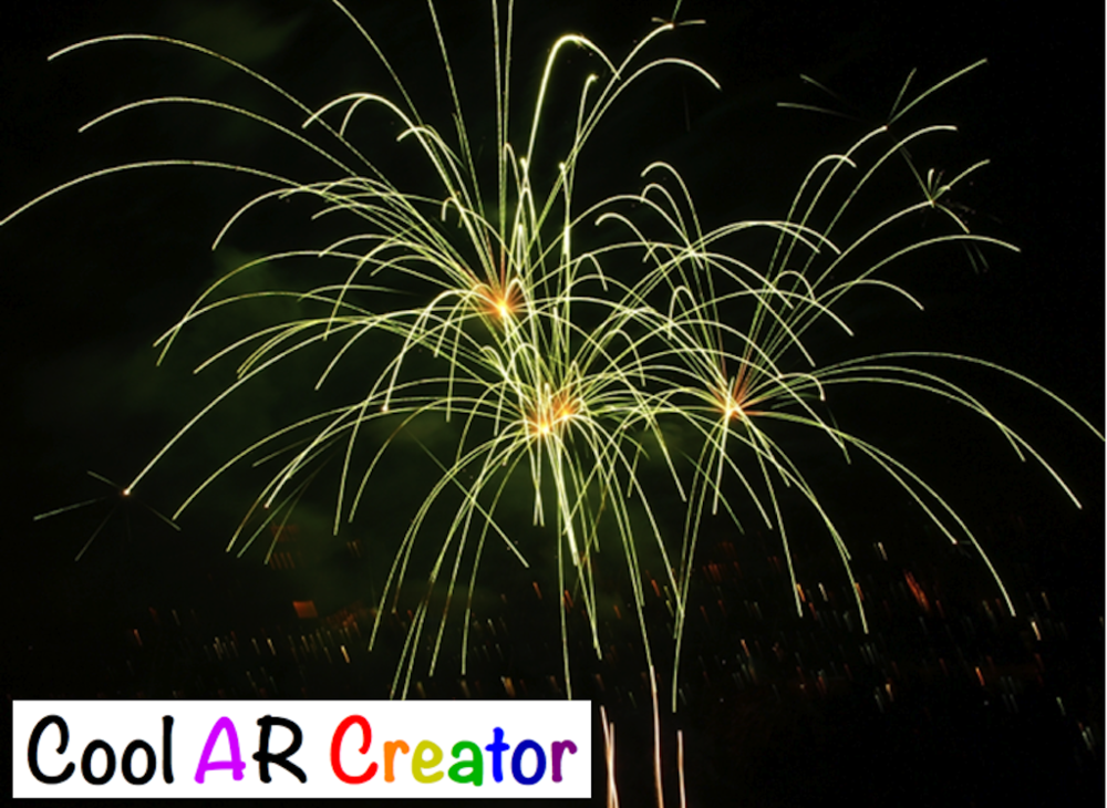 "Install the ""Cool AR Creator"" app from iOS App Store"
