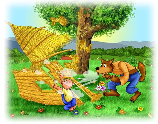 3 Little Pigs ==> Huff & Puff Story