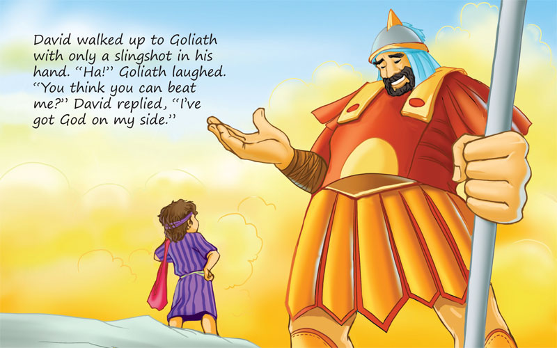 the story of david and goliath An archaeological dig near goliath's biblical hometown has yielded evidence of  judean religious practices 3000 years ago, pointing up fresh.
