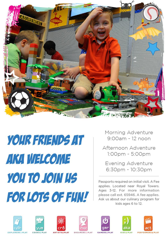Kids club invite