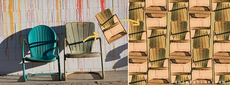 Ace Chairs / Chair Pattern - original image by Kim Klassen
