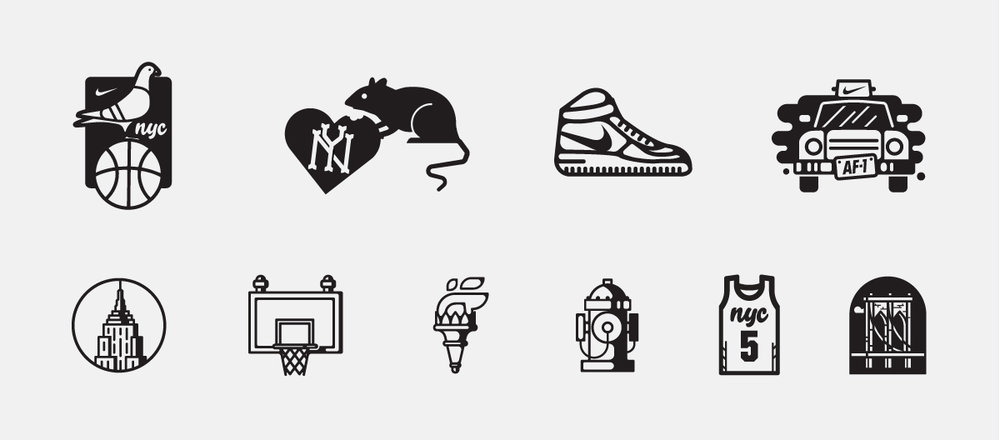 nye icon set