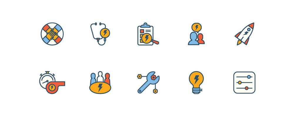 sustainability icons