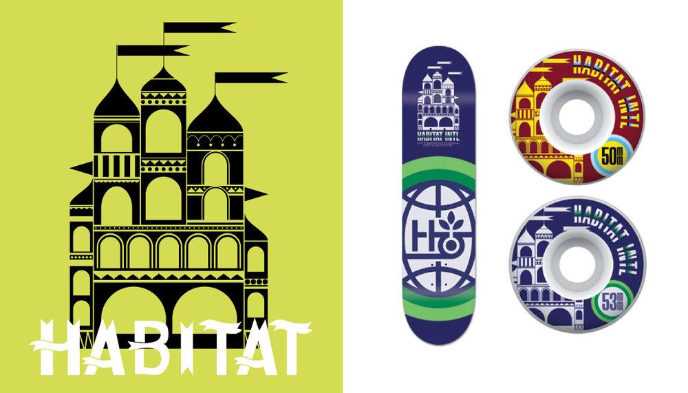 habitat skateboards castle