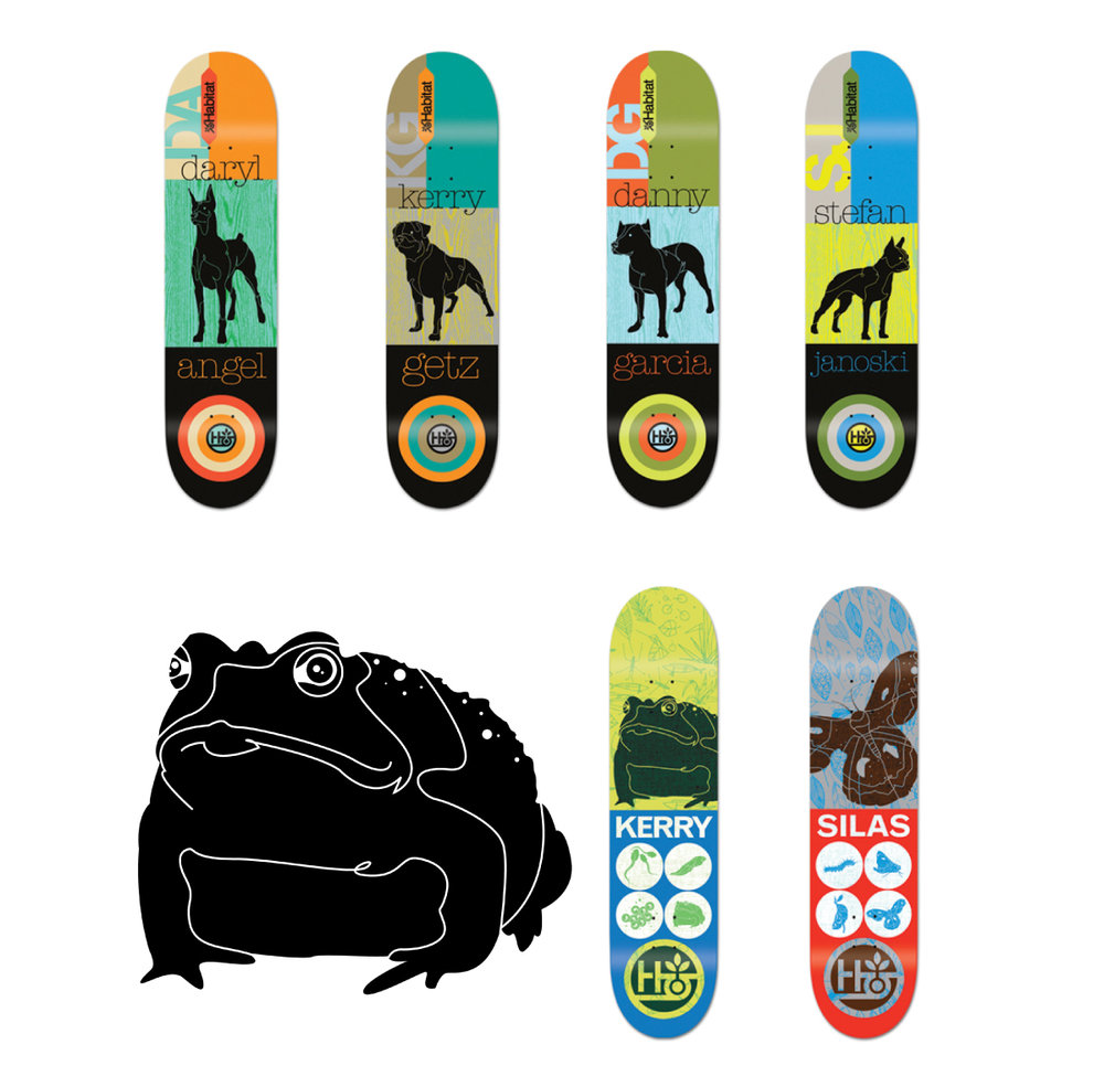 habitat skateboards decks