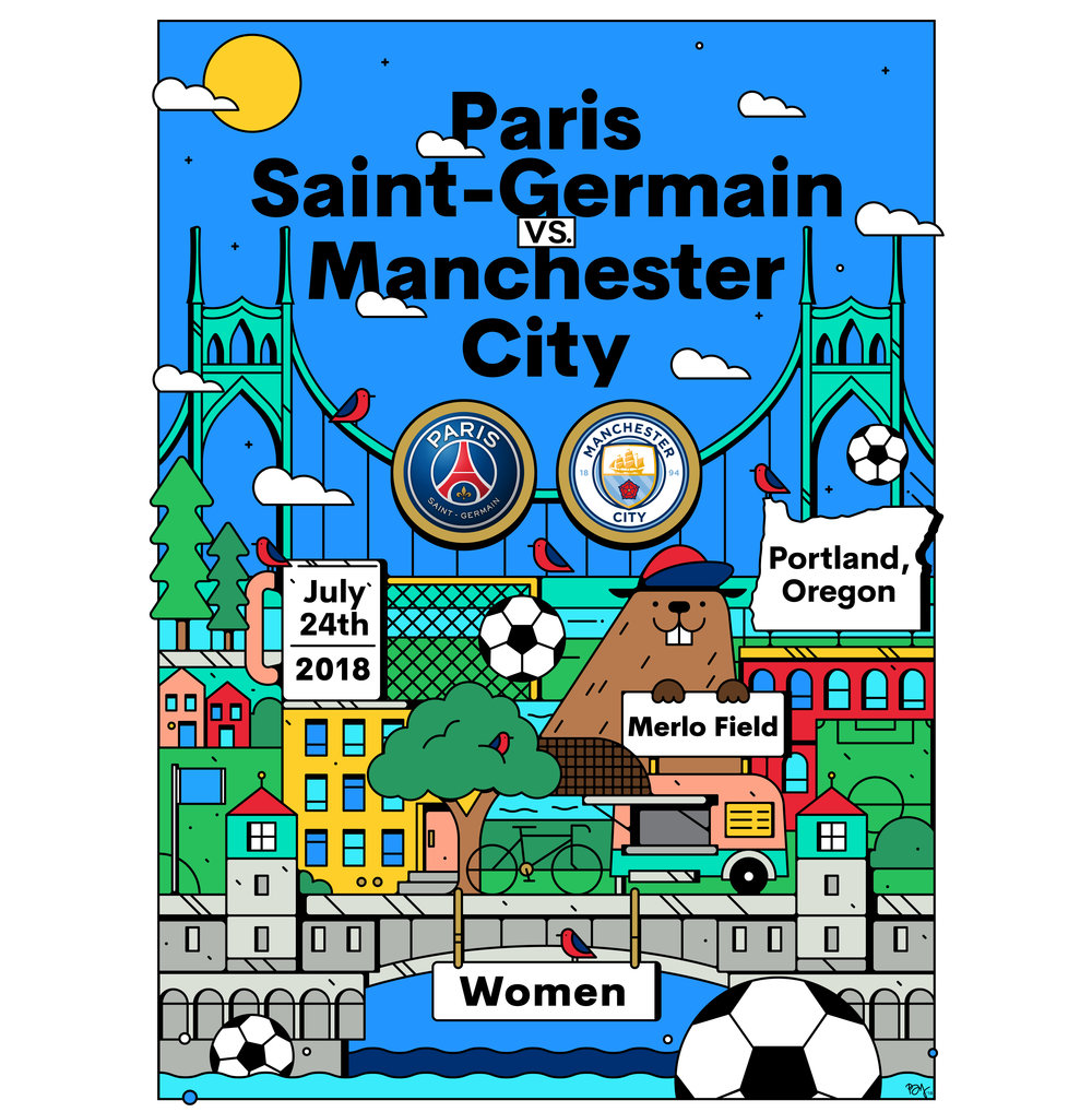 pasri saint-germain poster