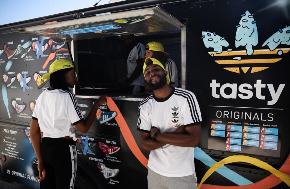 tasty originals ice cream truck