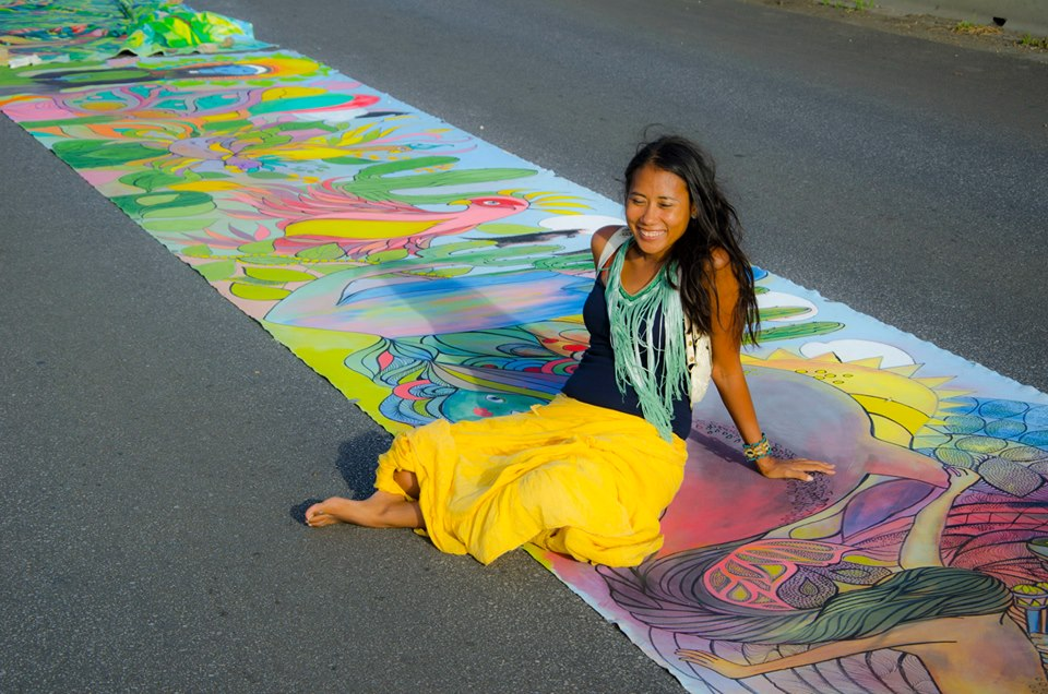 Curacao World's longest painting