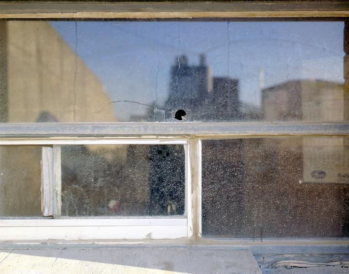 3rd Street Office Window, 2010