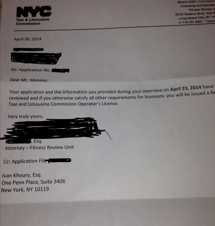 nyc tlc driver license renewal