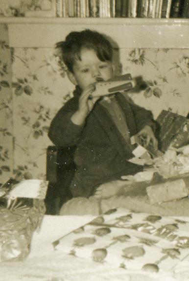 Eric Wilson aged 3
