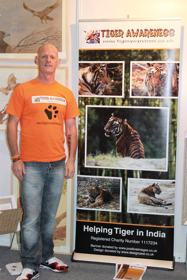 Phil Davis. Founder of Tigerawareness