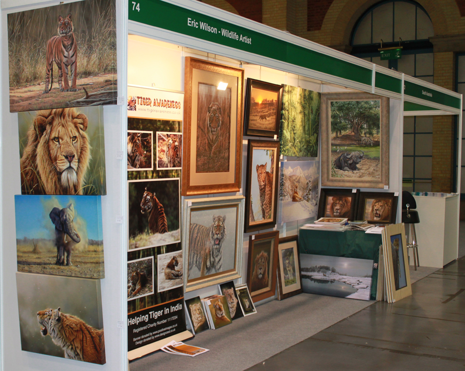 Tigerawareness at my London Expo.