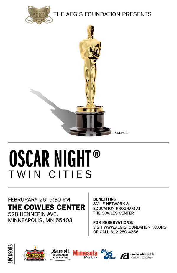 Oscar Night Twin Cities