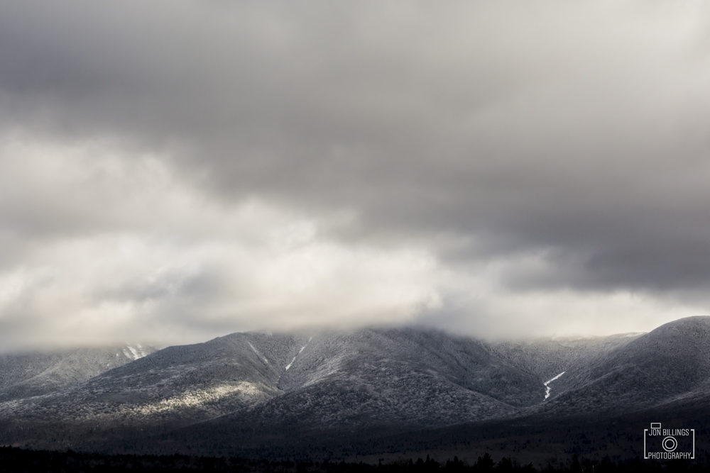 The White Mountains, New Hampshire.