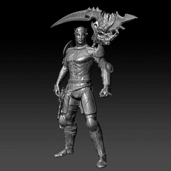 Dante's High Res Sculpt