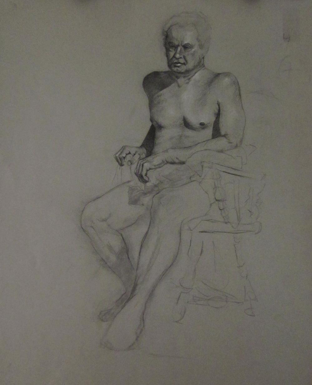 Rex Study 24x18, 2011