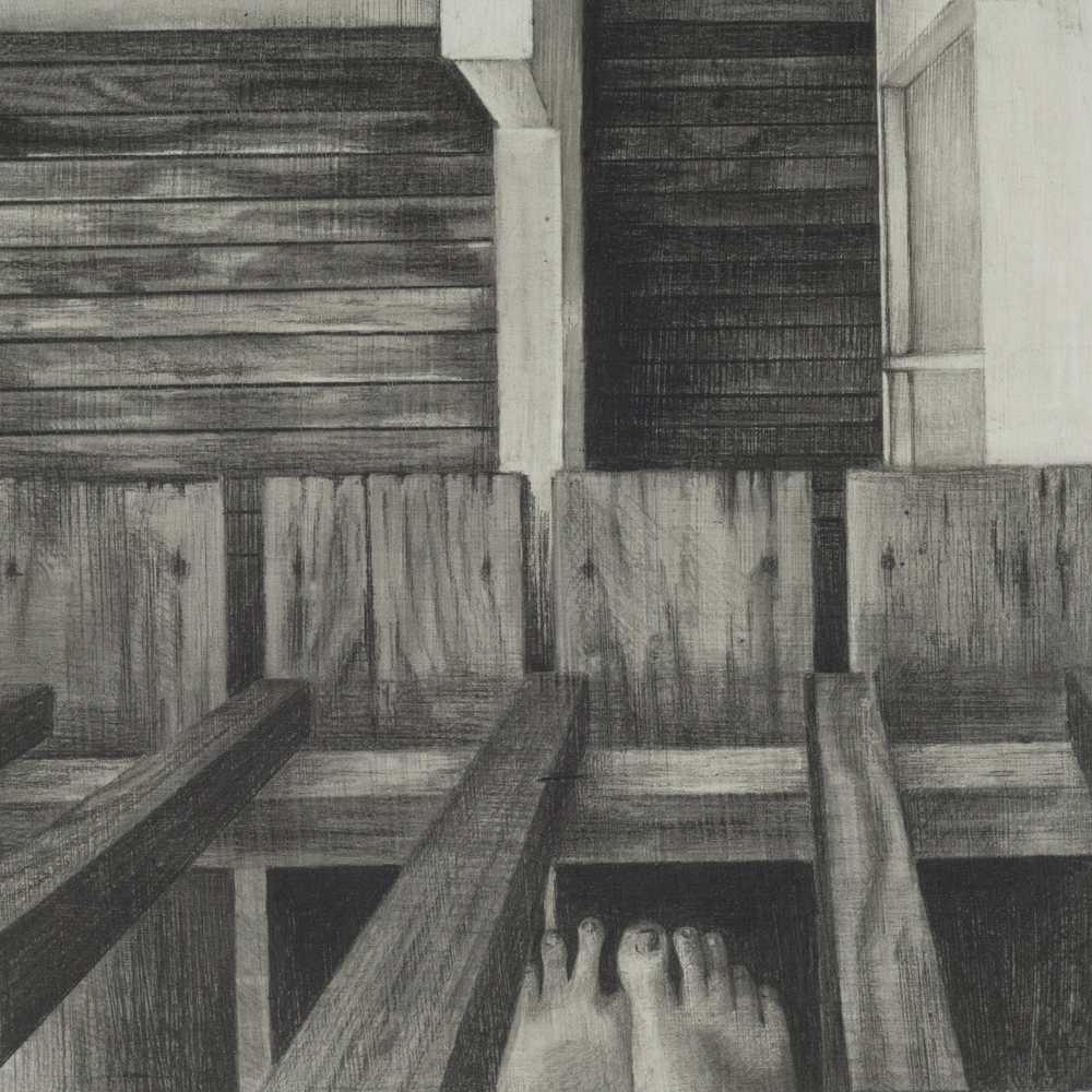 Feet, 12x12, 2013