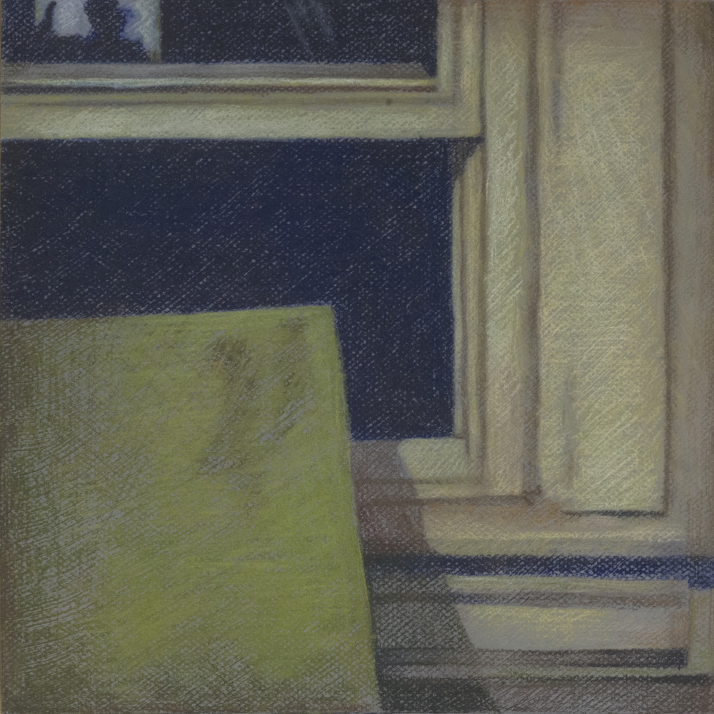 Studio Window, 12x12, 2013