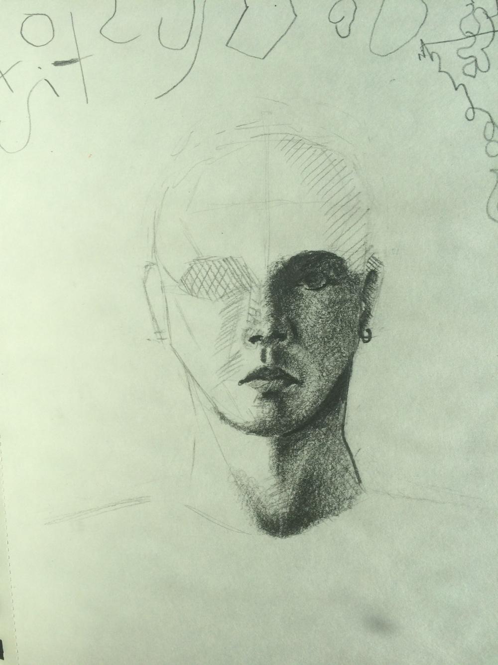 20 Minute Sketch 2/25/15