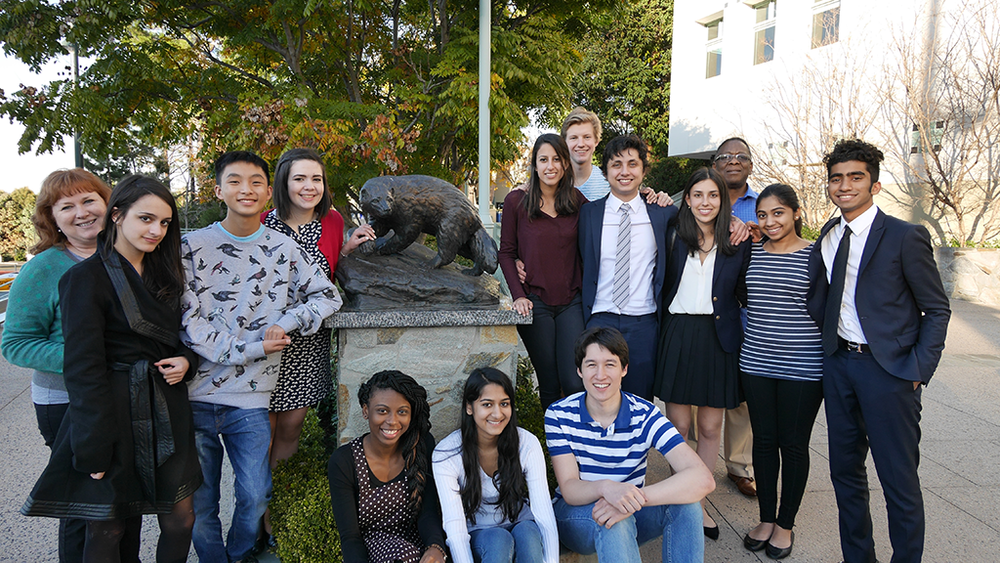 The 2014-2015 USA Debate Team at the Harvard-Westlake Tournament. January 4, 2015