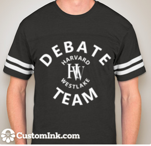 Varsity T-shirt — Vintage Smoke Click to Order