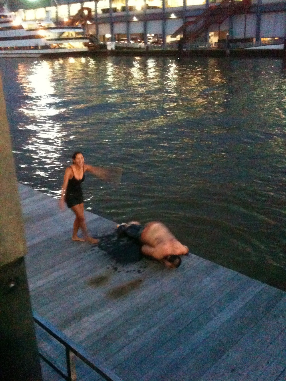 Couple Jumped Off Chelsea Pier