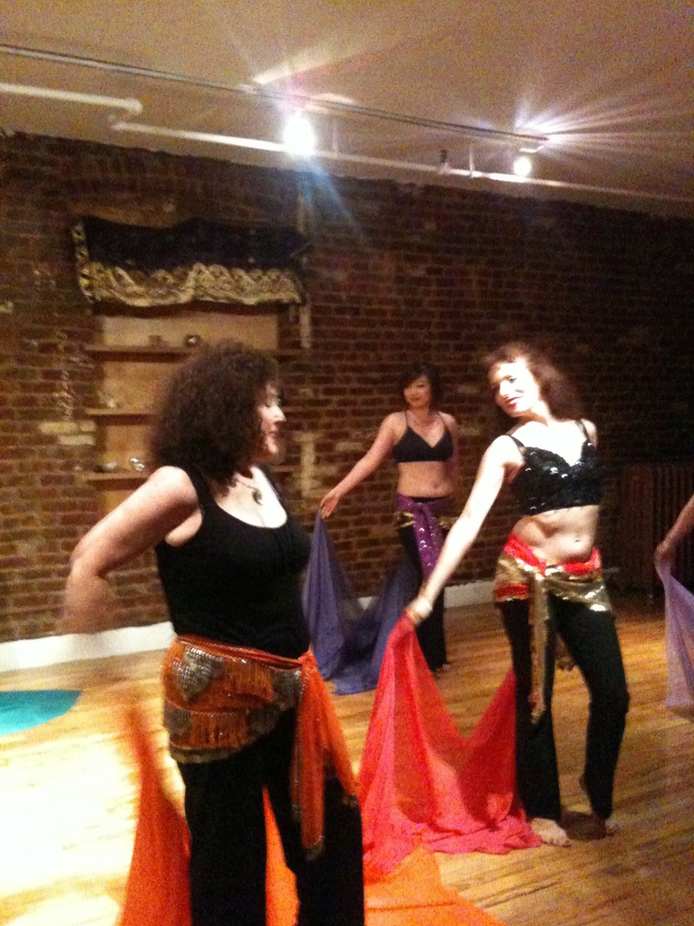 Belly Dancing in the Zendo, NYC