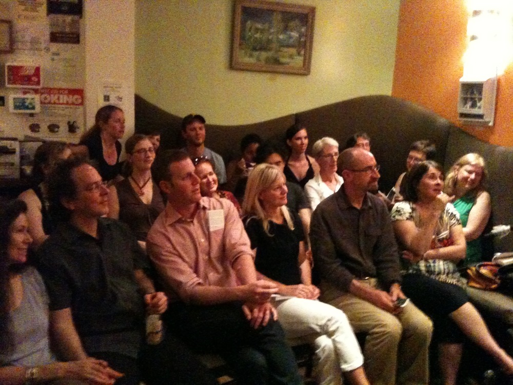 Flash Fiction at the Path Cafe, NYC