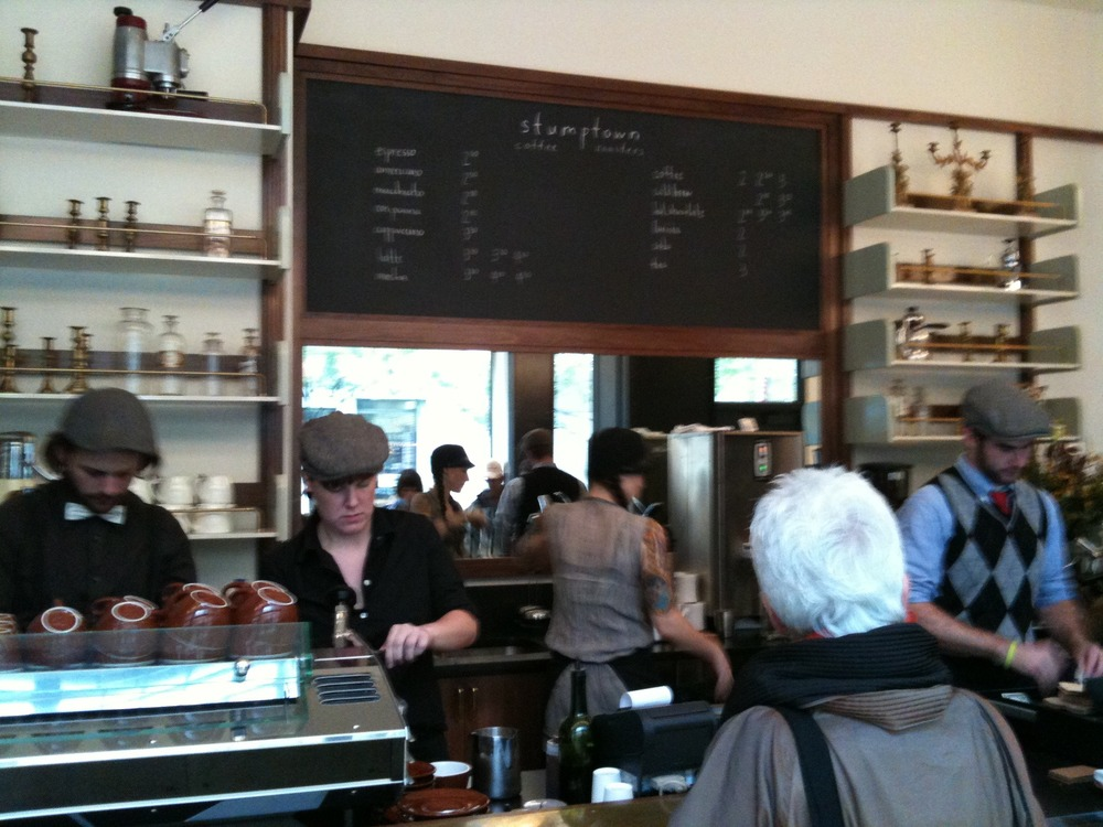 New Stumptown Coffee at 29th and Broadway, Manhattan