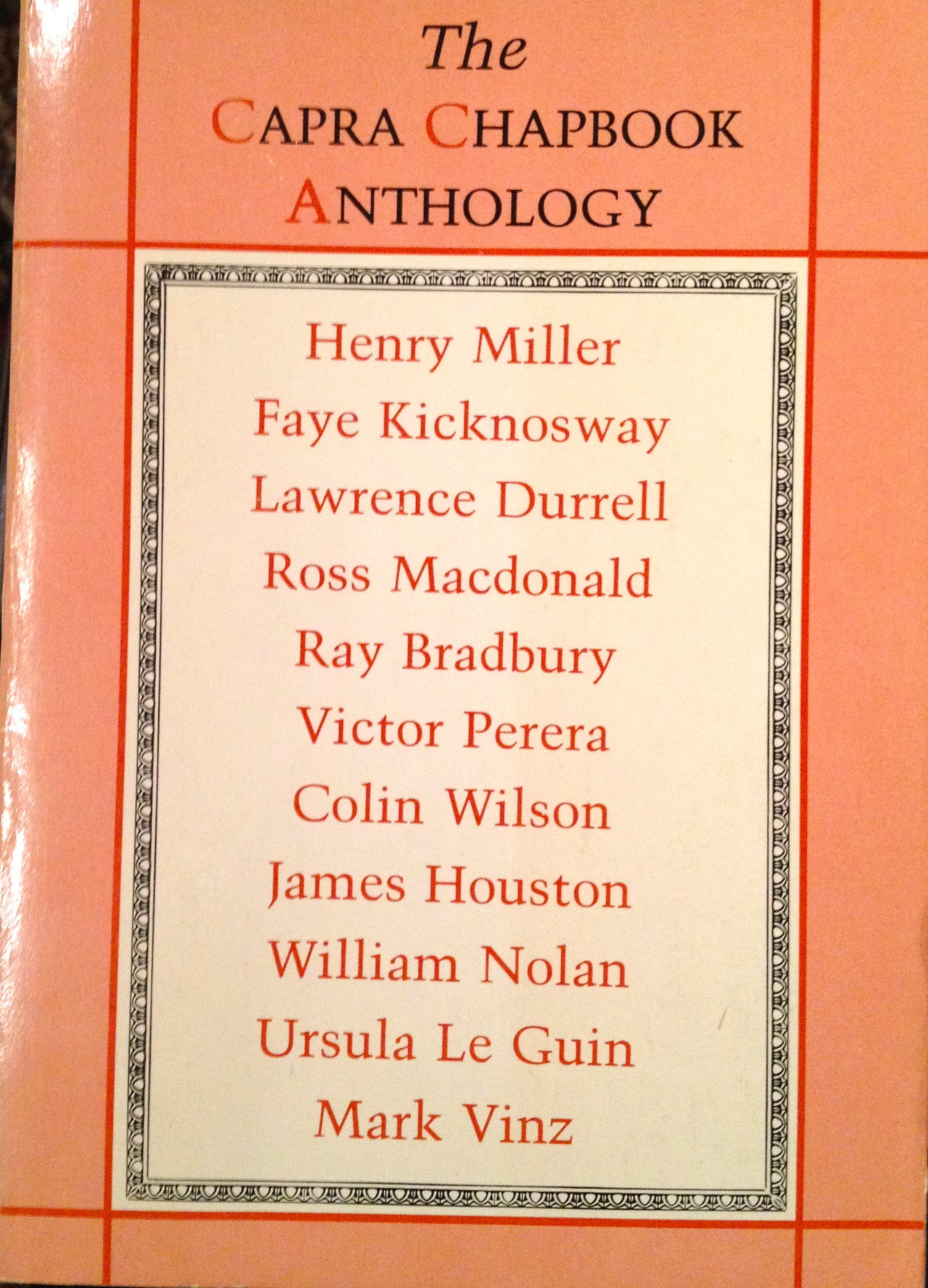 this old book palafo this is a 1979 collection of chapbooks or literary pamphlets that were published by