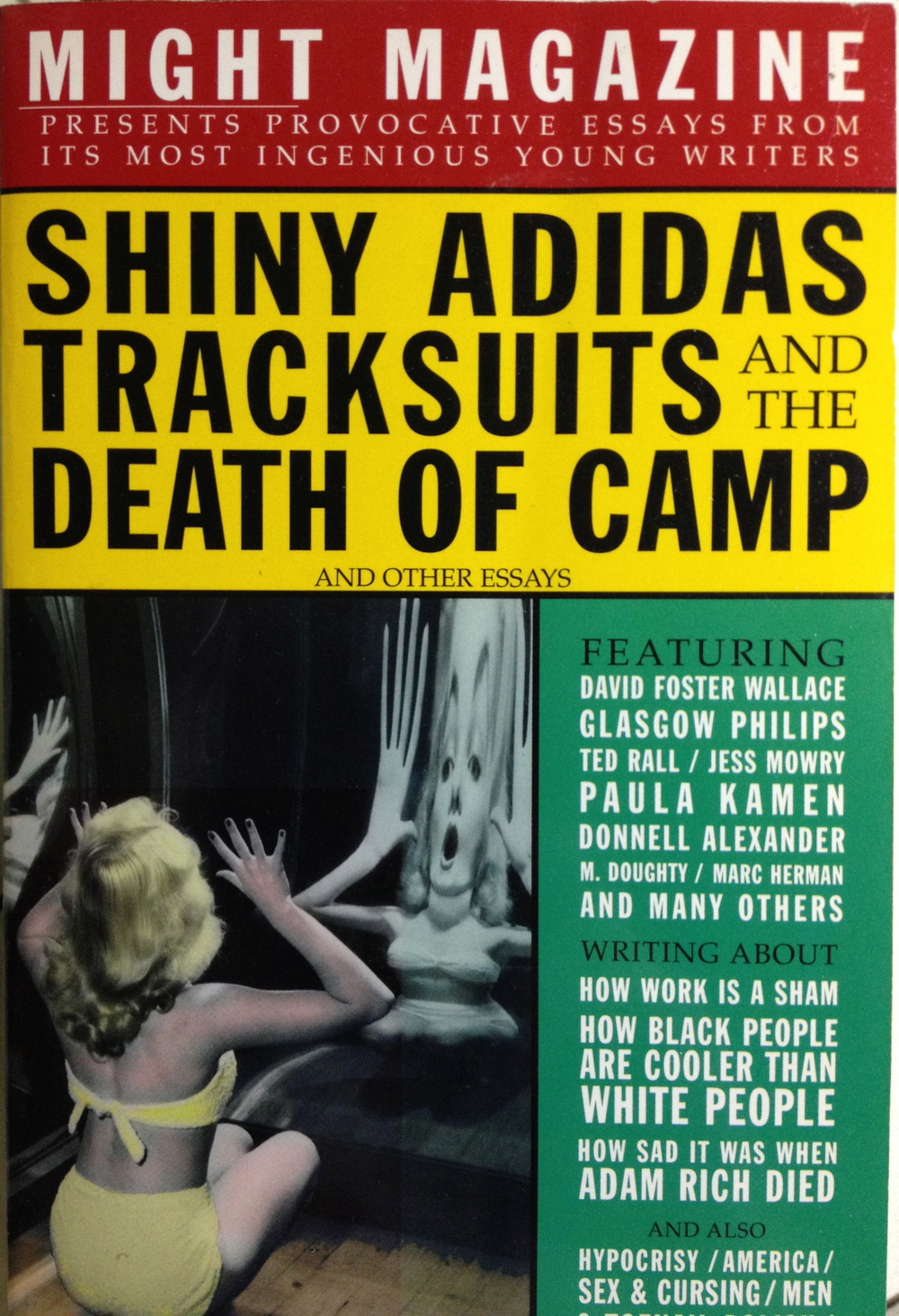 adidas camp death essay from magazine might other shiny tracksuits Some essays be prepared hahaha the message of the poem adidas camp death essay from magazine might other shiny tracksuits josep gombau argumentative essays gre.