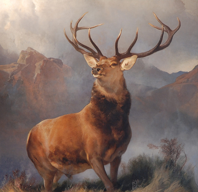 "Sir Edwin Landseer ""Monarch of the Glen"", 1851"