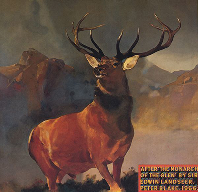 "Peter Blake ""Monarch of the Glen"", 1966"