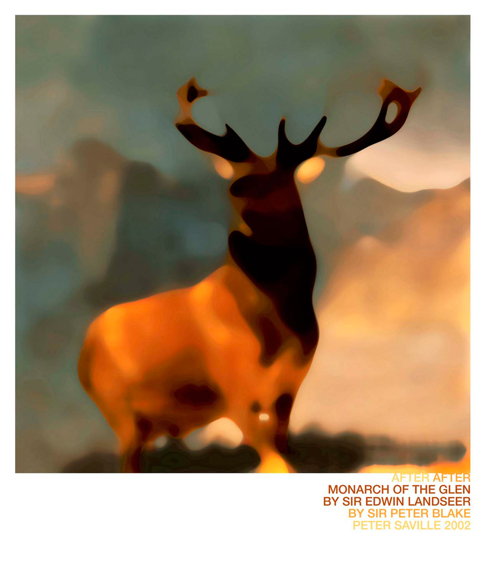 "Peter Saville ""Monarch of the Glen"", 2002"