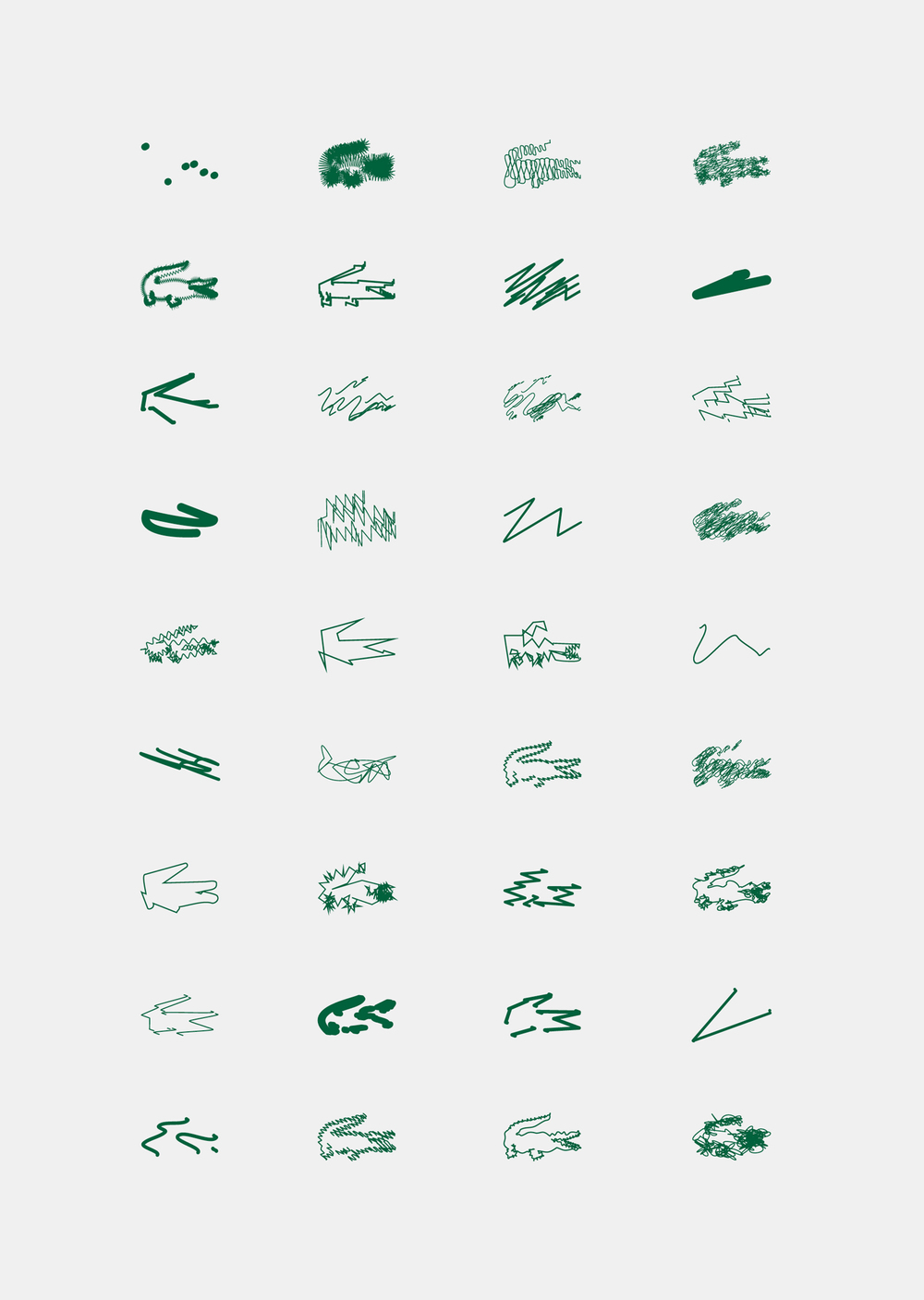 Lacoste by Peter Saville