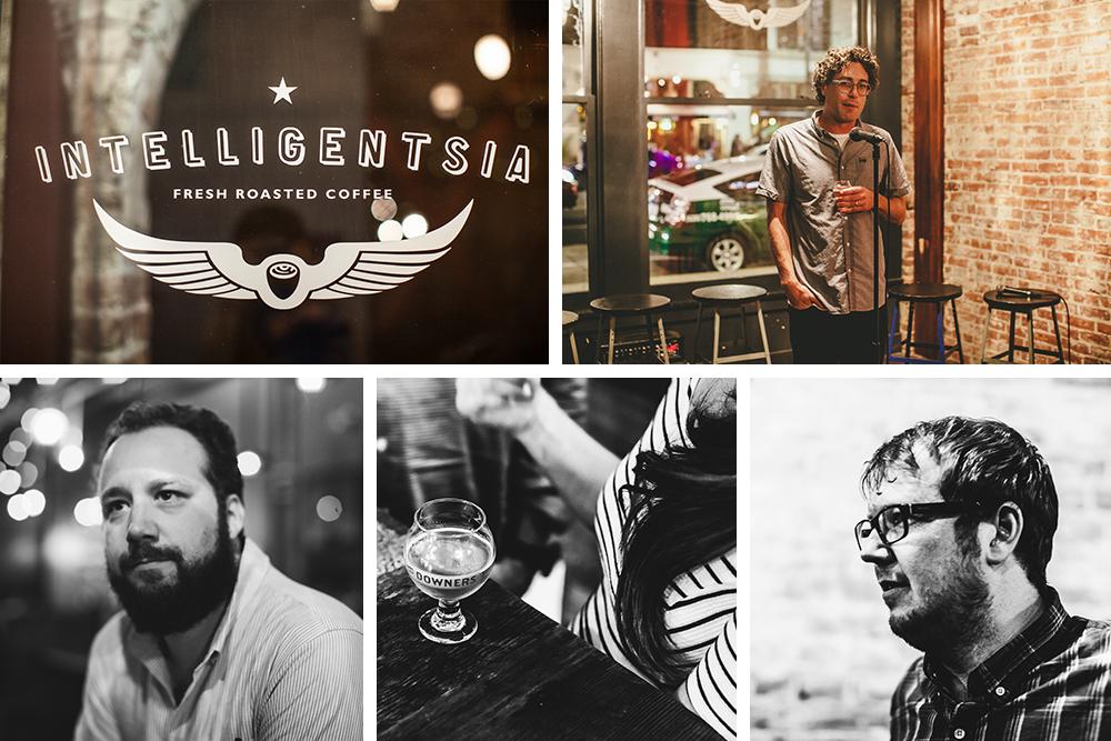 Michael Kiser, Good Beer Hunting (bottom left); Jay Cunningham (top right); John Barley (bottom right)