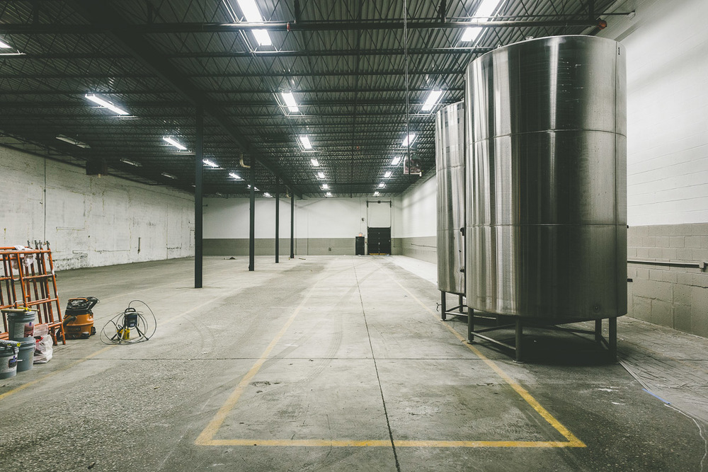 Half Acre finds room to grow with a second production brewery on Chicago's north side. Just a peak for now.