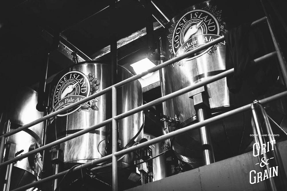 The Clybourn brewpub cellar.