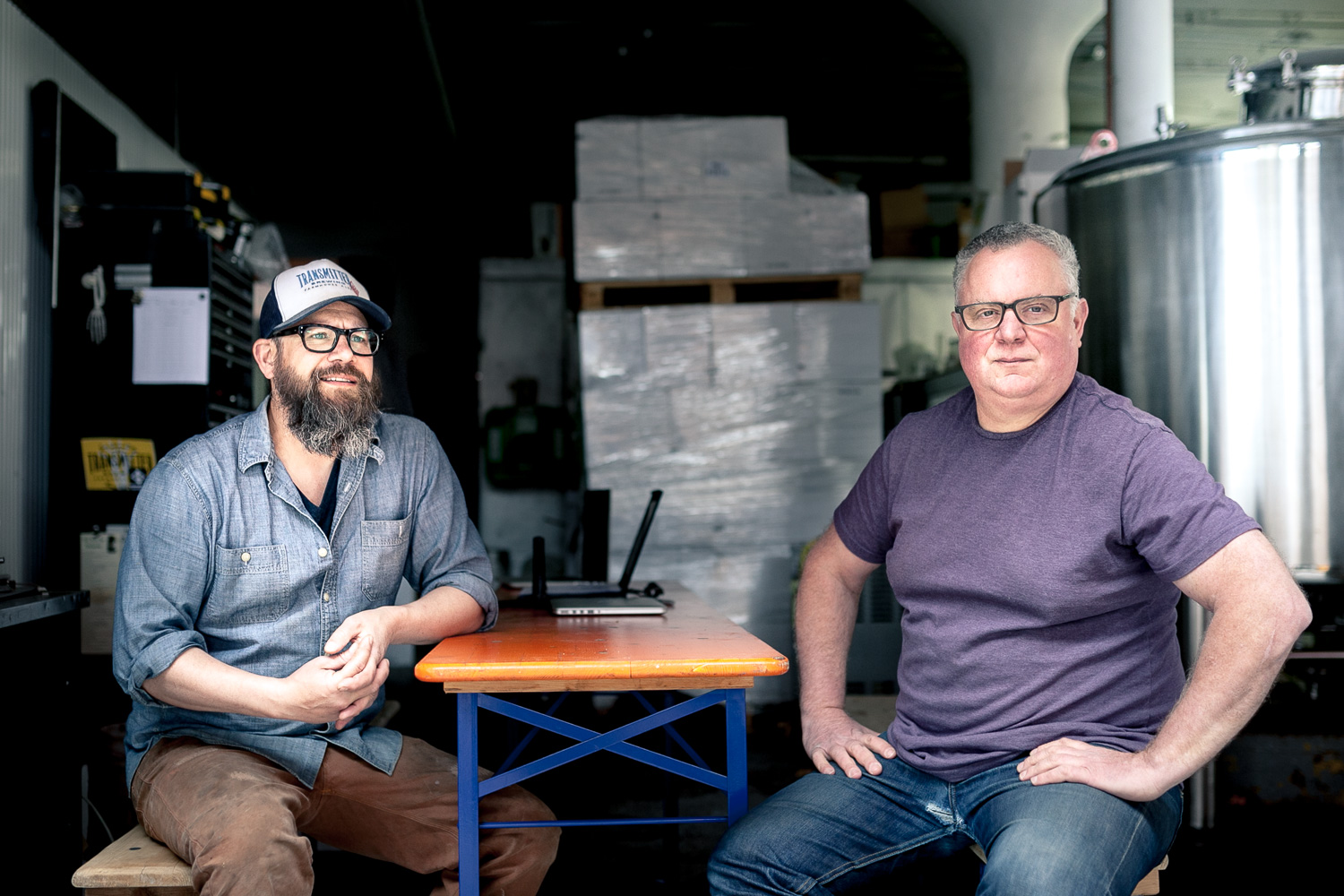 Critical Drinking with Transmitter Brewing's Rob Kolb and Anthony Accardi