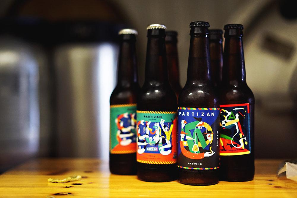 Partizan Brewing 1 - Bottles.jpg