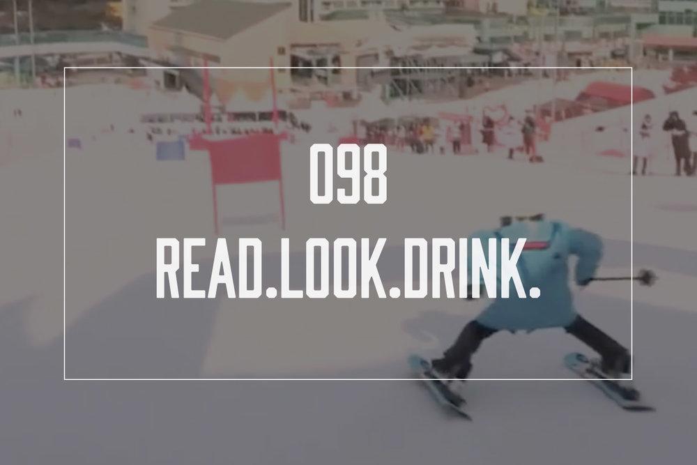 image still from  Robot Skiing
