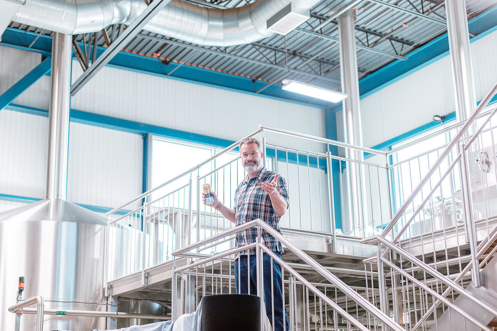 Photo of  Allagash Brewing Company founder Rob Tod  by Cory Smith