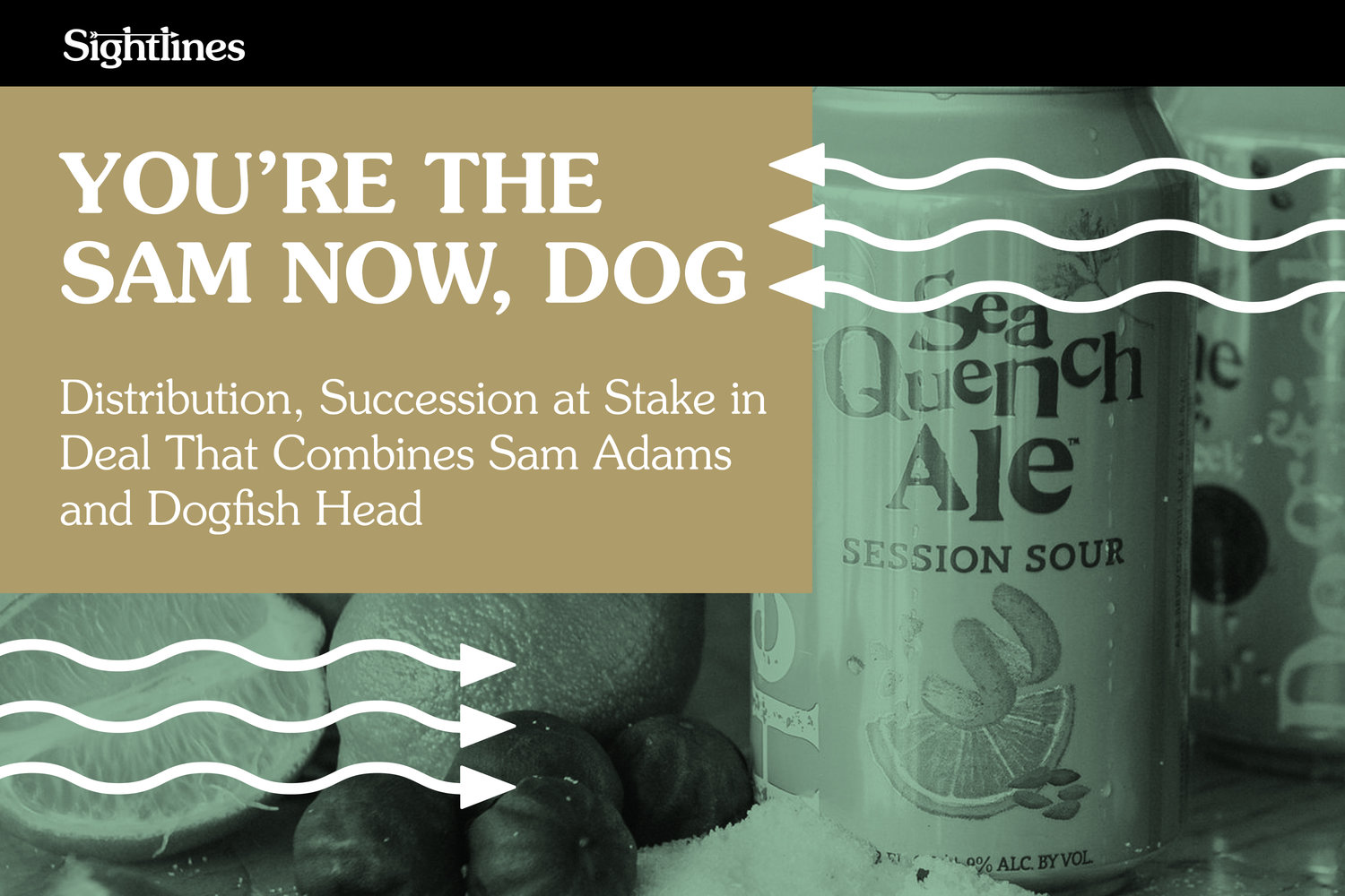 You're the Sam Now, Dog — Distribution, Succession at Stake in Deal That Combines Sam Adams and Dogfish Head — Good Beer Hunting