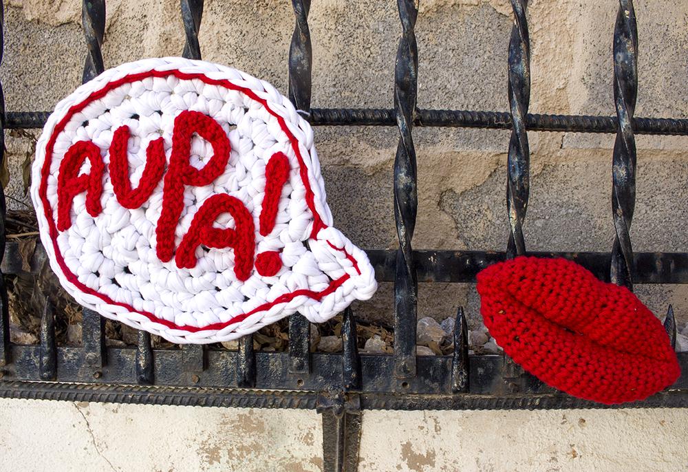 Urban Knitting. Aupa Mallorca (Trikoarte, 2014)