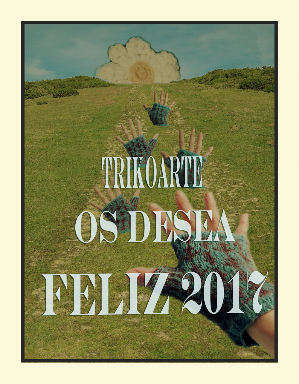 trikoarte collage feliz 2017